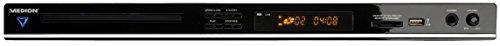MEDION LIFE P71023 (MD 84643) Slimline Design DVD-Player ( Xvid, HDMI, Kartenlesegerät, Progressive Scan, OSD) schwarz