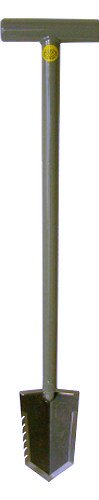 Lesche T- Handle Heavy Duty Metal Detecting Shovel with Serrated Blade