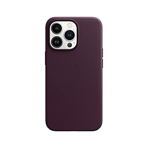 Apple Leder Hülle mit MagSafe (für iPhone 13 Pro) -Dark Cherry