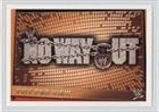 No Way Out (Trading Card) 2012 Topps WWE Slam Attax Rebellion - [Base] #210