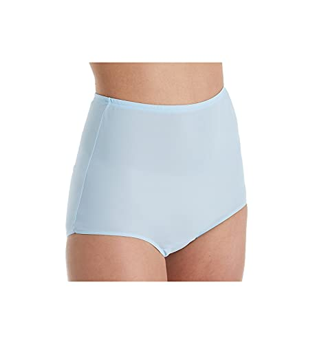 Shadowline Women's Comfort Band Brief Panty 17052 6 Blue