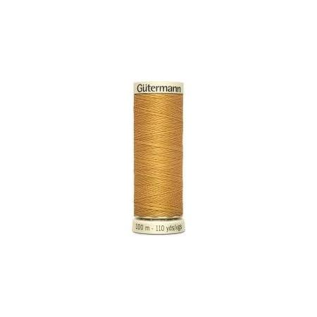 jeans Gold 0968 250Mtr Gutermann Sew tous Polyester Fil