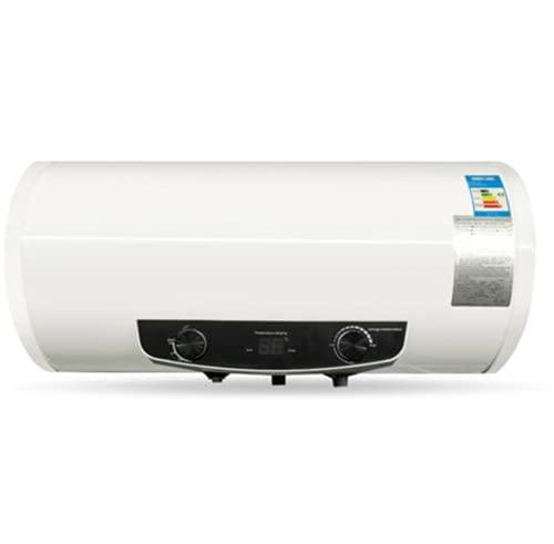 Elektro Warmwasserspeicher 2000w Wasserboiler Boiler Mit Duschset 50 80 100 120l, Vollautomatische Steuerung,vier Sicherheitsschutzvorrichtungen,vorthermostatknopf Und Anzeigeleuchte (120L)