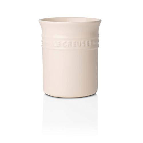 Le Creuset Bote para espátulas, 1.1 L, Cerámica de gres, Cream