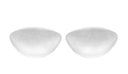 Sodacoda Silikon BH Einlagen 210g/Paar - Große Weiche Push-Up Brust-Einlagen für BH und Badeanzug - Transparent
