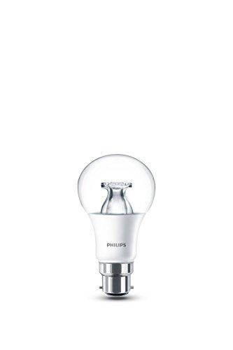 Philips Warmglow Ampoule LED à intensité variable Blanc chaud Culot B22 6 W 230 V, 1 ampoule, B22 230 volts