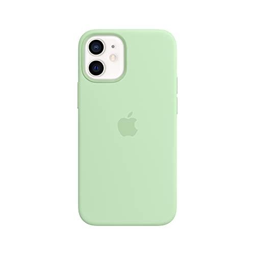 Apple Leder Hülle mit MagSafe (für iPhone 12 Mini) - Pistazie