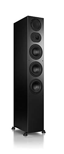 Nubert nuLine 284 Standlautsprecher | Lautsprecher für Musikgenuss | Heimkino & HiFi Qualität auf hohem Niveau | Passive Standbox mit 3 Wege Technik Made in Germany | Standbox Schwarz | 1 Stück