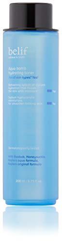 Belif Aqua Bomb Hydrating Toner 200ml   Hydrating Facial Toner for Dry Skin   Hydration, Moisturizing, Clean Beauty