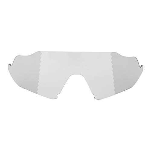 Preisvergleich Produktbild Walleva Ersatzlinsen für Oakley Flight Jacket Sonnenbrille - mehrere Optionen erhältlich (Übergang / Photochromisch - Polarisiert)