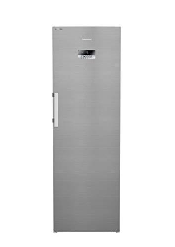 GRUNDIG GSN 10731 XN Kühlschrank/No Frost/Display mit Sensortasten/Geruchsfilter/IonFresh-Technologie/SuperFresh/35 dB/Edelstahllook/HxBxT: 184,5x59,5x67 cm