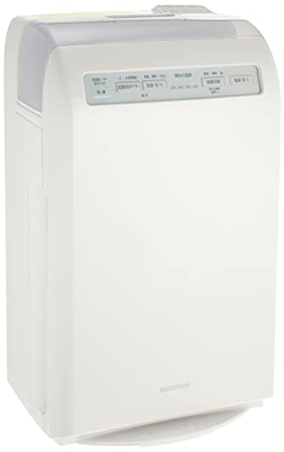 アイリスオーヤマ 加湿 空気清浄機 10畳 脱臭 ホコリ 花粉 加熱式 ホワイト HXF-C25-W