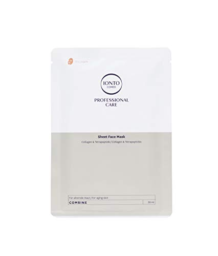 Ionto Comed Sheet Face Mask Collagen & Tetrapeptide 3 x 30 ml