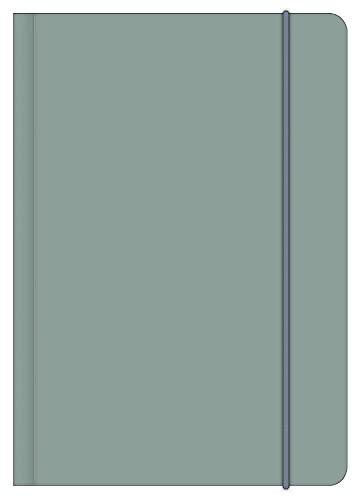 LAKE 12x17 cm - Blankbook - 240 blanko Seiten - Softcover - gebunden: Midi Flexi EarthLine