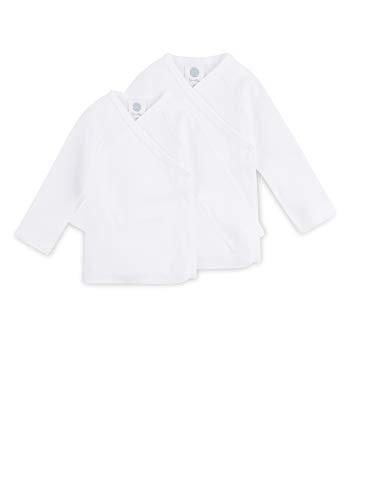 Sanetta Unisex Flügelhemd im Doppelpack - Bio-Baumwolle, Gr.50