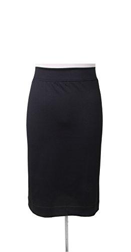 KIKI RIKI Womens Lycra Pencil Skirt - 4824 - Black, 2XL