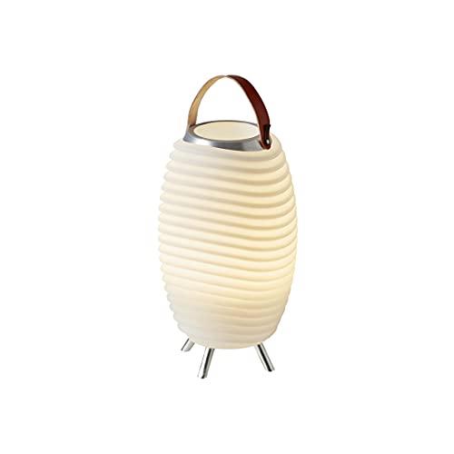 Synergy 35 Pro – 3-in1 LED-Lampe Bluetooth-Lautsprecher & Weinkühler – LED-Licht, Musik-Streaming und Wein-, Champagner oder Bier kühlen – 2600 mAH-Akku für bis zu 11 Stunden Laufzeit