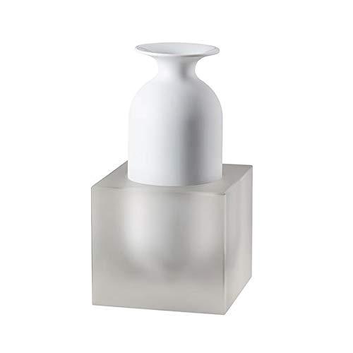 Rosenthal - Studio Line - Freddo - Weiß, Glas - Vase, Objekt - Porzellan - Weiß - Höhe 23 cm