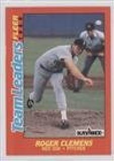 Amazoncom Roger Clemens Baseball Card 1988 Fleer Kay Bee