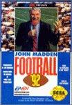John madden football 92 - Megadrive - US