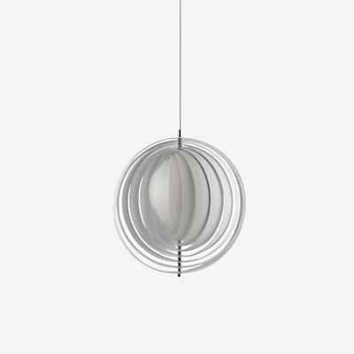 Verpan Moon - Lámpara de techo, color blanco