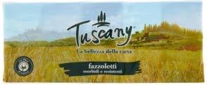 FAZZOLETTI TUSCANY 4 VELI PACCO DA 10 PZ MADE IN ITALY