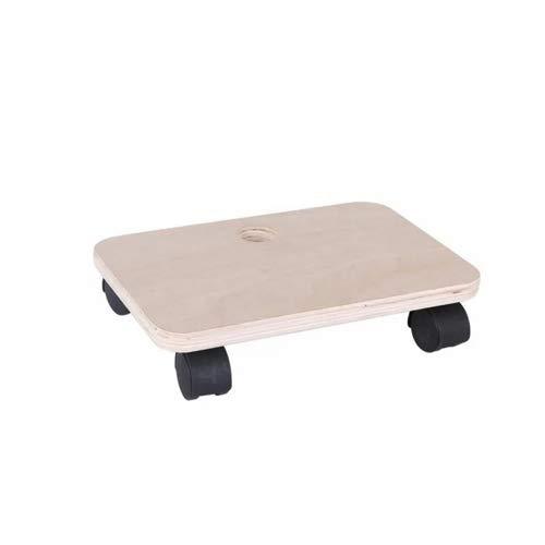 Plataforma de Carga y Transporte con ruedas - Base de madera