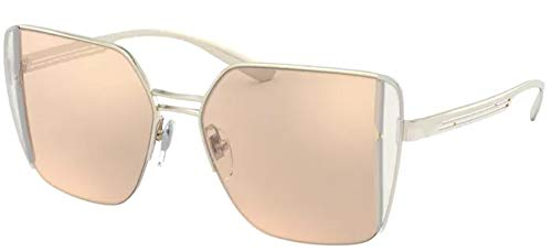 Bvlgari Gafas de Sol B.ZERO1 BV 6141 Rose Gold/Brown Orange 52/15/140 mujer