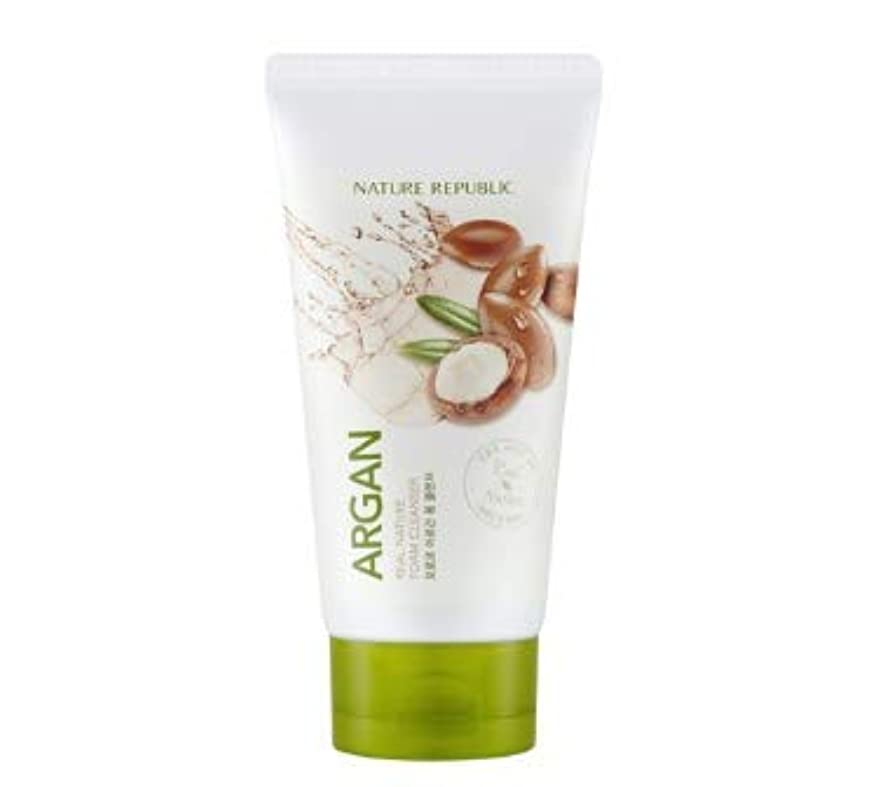 バドミントン鉄道スペードNATURE REPUBLIC Real Nature Argan Foam Cleanser 150ml [並行輸入品]