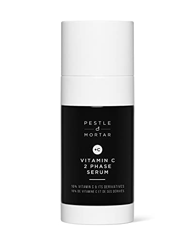 Pestle & Mortar Vitamin C 2 Phase Serum - Brightening and Clarifying Face Serum - 40ml