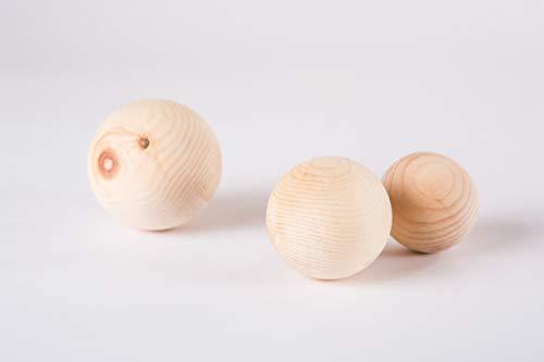 Holz-Leute Zirbenkugel klein - 5 cm