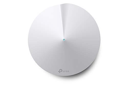 TP-Link Système WiFi Mesh performant , Boitier Additionnel, Couverture WiFi de 180㎡ Supplémentaires, 2 Gigabit Ethernet Ports, Contrôle parental, Compatible avec toutes les Box Fibre, Deco M5(1-Pack)