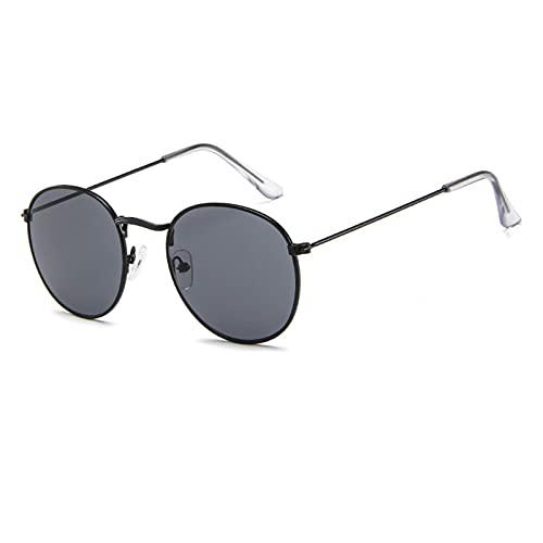 Liably Gafas de sol unisex, clásicas, retro, grandes monturas de gafas, protección UV400, antirrayos UV, polarizadas, estilo informal, multicolor, para conducir, pescar, viajar, etc. c M