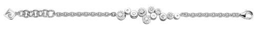 Pierre Cardin Women's Bracelet 19cm 925/000Sterling Silver Legerete Pcbr-90166.a.19