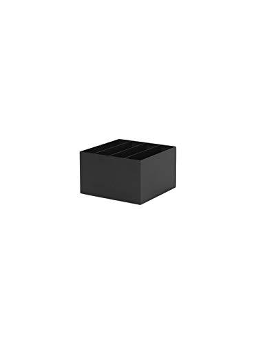 Ferm Living Pflanzenbox, Metall, Black, 14,8x24x24