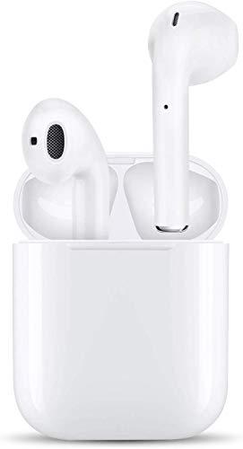 【最新版 Bluetooth 5.0 タッチ式】完全 ワイヤレスイヤホン ブルートゥース 自動で接続両耳通話 3時間連続音楽再生可能ヘッドセットタッチコントロール 対応Siriへアクセス 左右分離型 タイプ iOS/Android/MAC互換