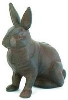 Cast Iron Rabbit Bunny Standing