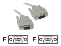 1Ft Db9 F/F All Lines Ext Cbl-Biege - By 'Cables To Go' - Prod. Class: Network Hardware/Network Cable / Serial
