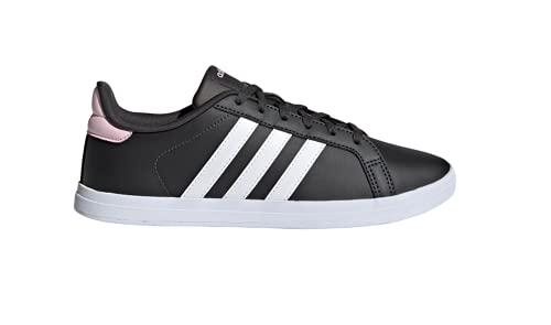 adidas COURTPOINT, Zapatillas Deportivas Mujer, Carbon/FTWBLA/ROSCLA, 36 EU