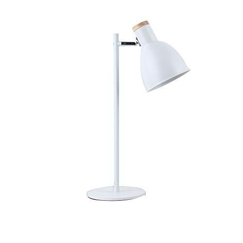 SACYSAC Lámpara de Mesa de Noche Dormitorio lámpara de mesita de Noche de Hierro Forjado lámpara...