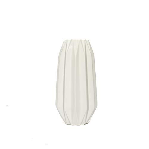 aufora h0274a kurz Dennington Polygon Vase, weiß