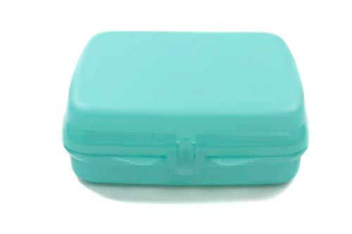 Tupperware to Go Sandwich-Box helles türkis Pausenbox Brotbox Schule 38001