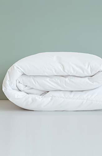 Kadolis Baby-Bettdecke Clim Plus Bio-Baumwolle und Tencel Weiß 100 x 140 cm