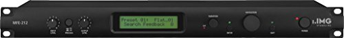 IMG Stageline MFE-212 Stereo-DSP-Feedback-Controller, schwarz