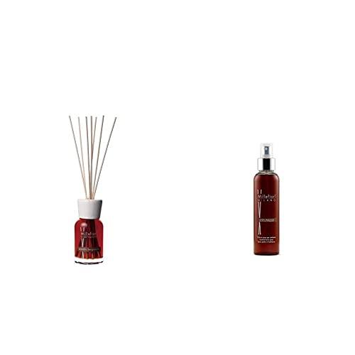 Millefiori Diffusore Di Fragranza Sandalo E Bergamotto 100Ml & Milano Spray Profumato Per Ambiente | 150Ml | Fragranza Sandalo Bergamotto