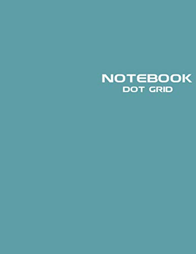 Dot Grid Notebook: Stylish Blue Notebook Journal, 120 Dotted Pages 8.5 x 11 inches Large Journal Paper | Softcover ( Younity Style -2021 Color Trends Collection) | Minimalist Notebook