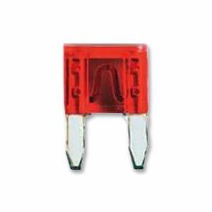 Mini Flachsicherung 10A 10 Ampere rot SICHERUNGEN x 10