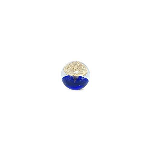 Art Deco Home - Presse-Papier Bleu Cristal 8 cm - 14330SG