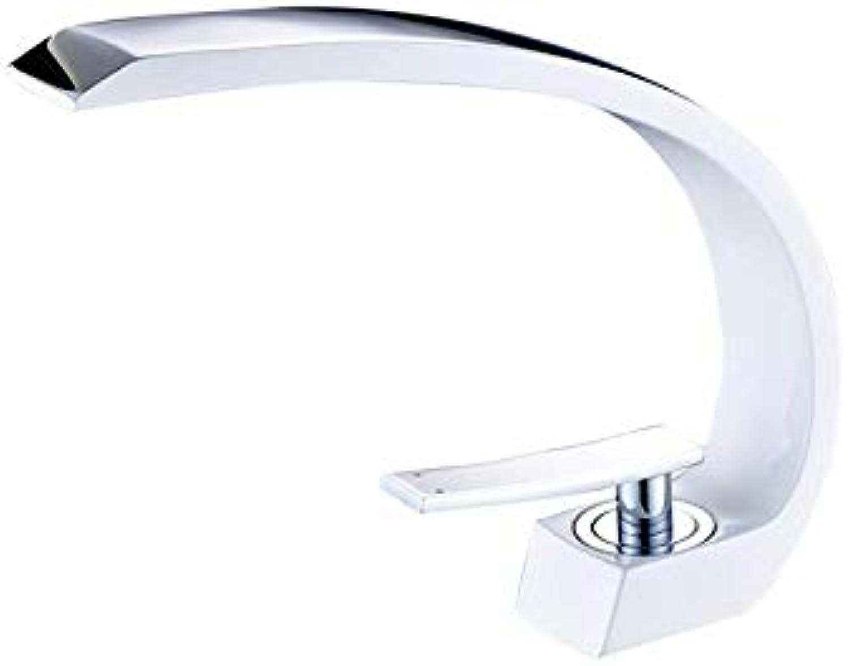 JONTON LED Wasserfall Glas Bad Einzigen Wasserhahn Becken Wasserhahn Einhebelmischer l Rieb Bronze