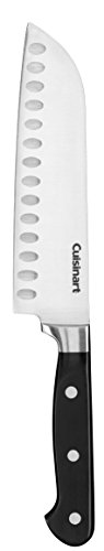 Cuisinart C77TR-7SAN Triple Rivet Collection 7' Santoku Knife, Black